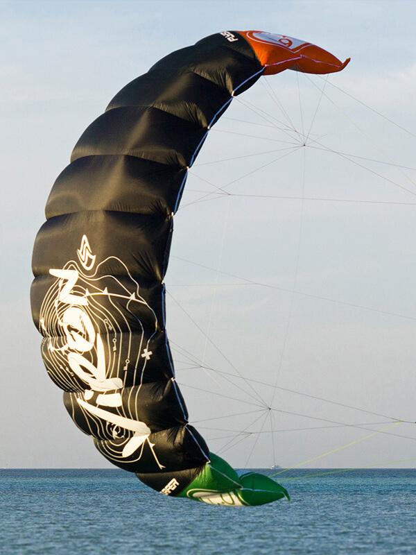 кайт для обучения (учебный кайт) парафойл VIRON2 Flysurfer